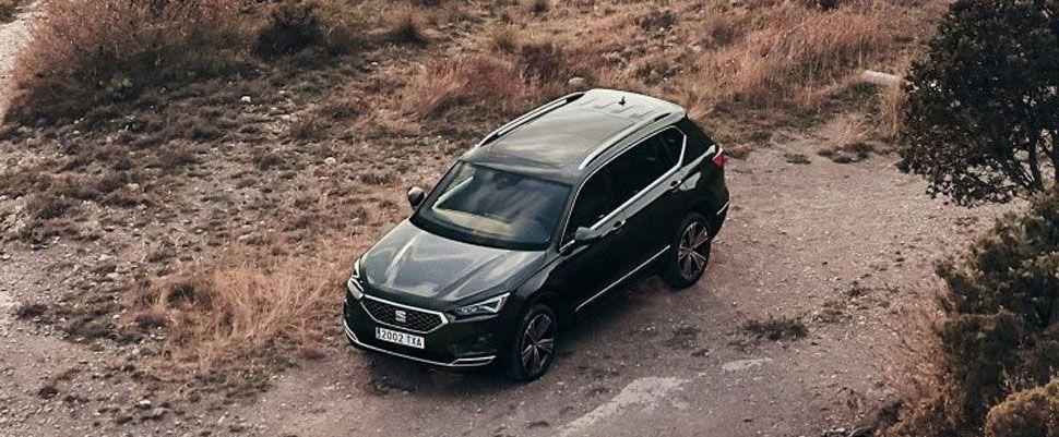 coche seat tarraco exterior negro