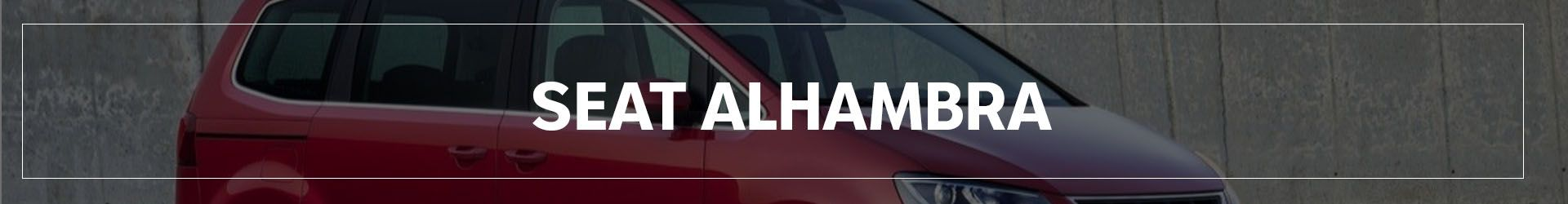 SEAT ALHAMBRA | Automocion Terry Concesionario SEAT Cadiz