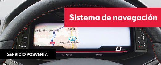 sistema de navegacoin | Automocion Terry Concesionario SEAT Cadiz